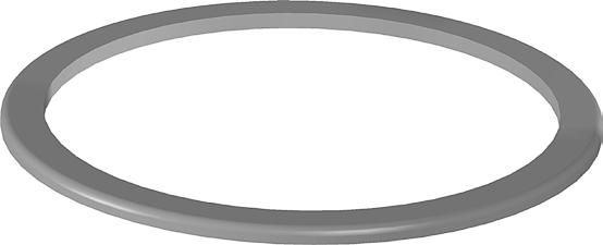 ANEL DE VEDAÇÃO DA TAMPA DO RESERVATÓRIO DE ÓLEO - COD.00262 Image