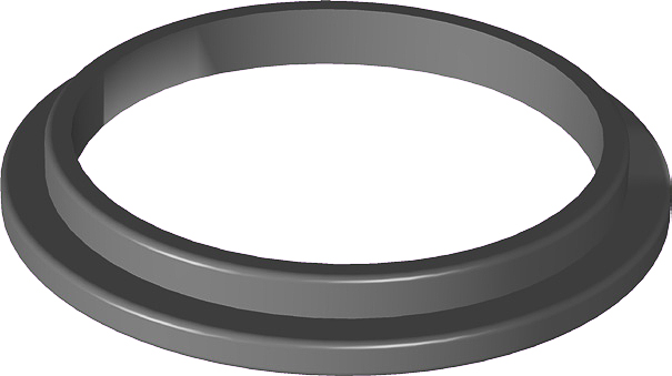 ANEL ADAPTADOR - USI (MOD.ANTIGO) - P/ TAMPA INOX - COD. 00164 Image
